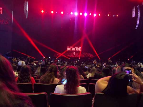 Smart Financial Centre, section: 103, row: V, seat: 7