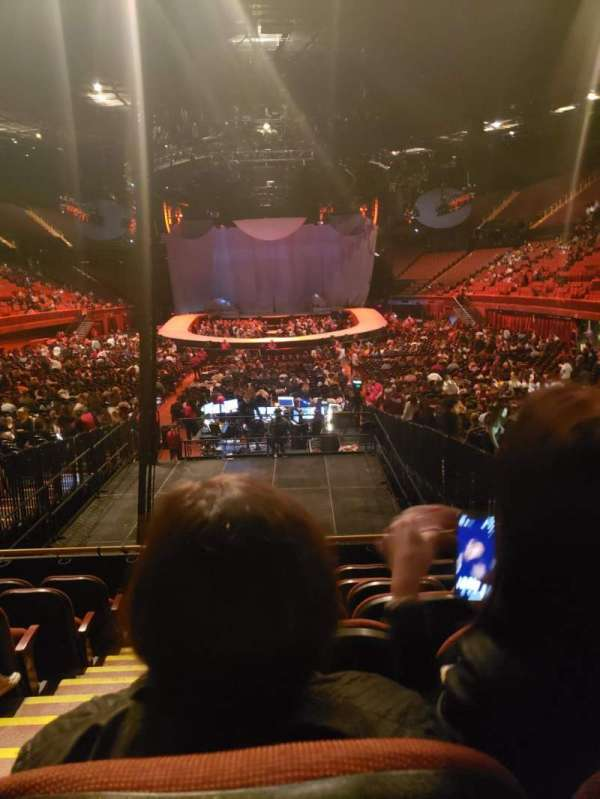 The Forum, section: 101, row: 7, seat: 1