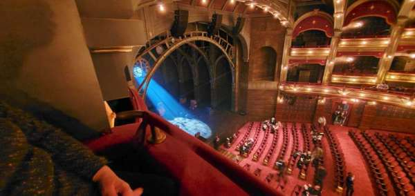 Lyric Theatre, section: Balcony L Box C, row: A, seat: 1