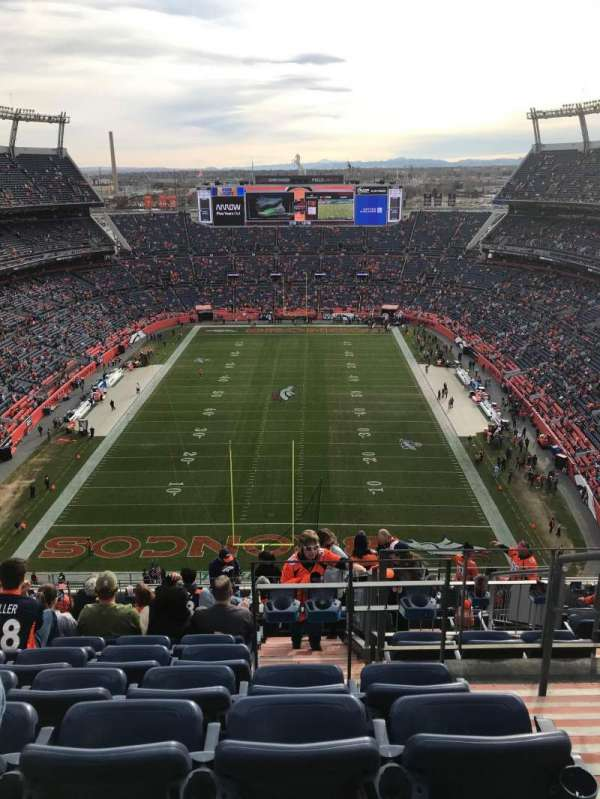 Empower Field at Mile High Stadium, section: 521, row: 21, seat: 2