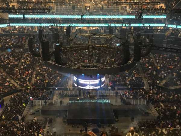 Barclays Center, section: 209, row: 12, seat: 1
