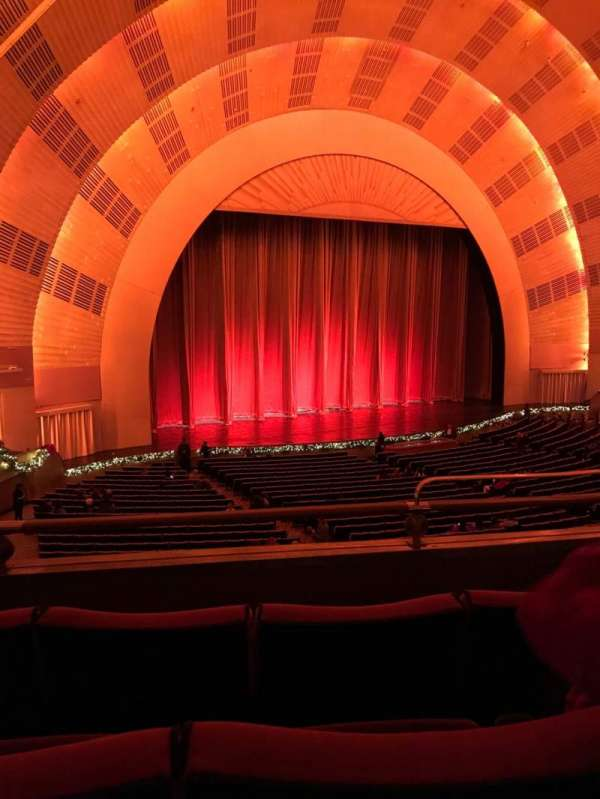 Radio City Music Hall, section: 1st Mezzanine 7, row: B, seat: 704