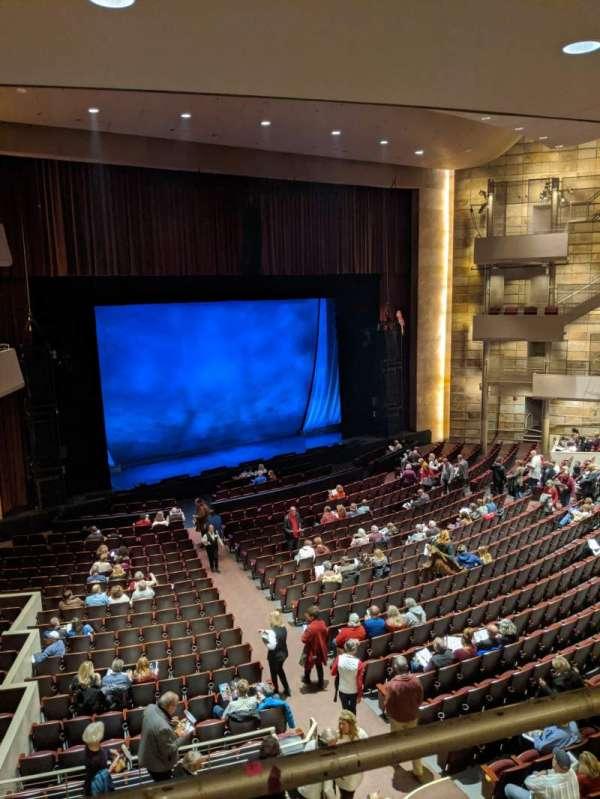Temple Buell Theatre, section: Mezzanine, row: F, seat: 201