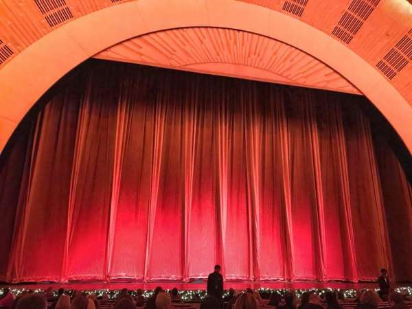 Radio City Music Hall, section: Orchestra 5, row: PO, seat: 504