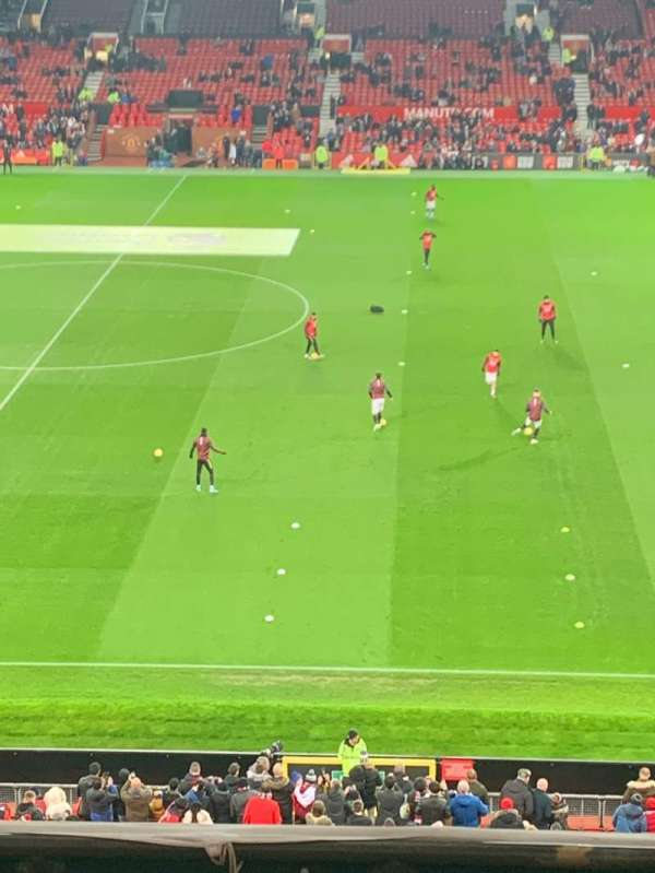 Old Trafford, section: N5415, row: 6, seat: 30