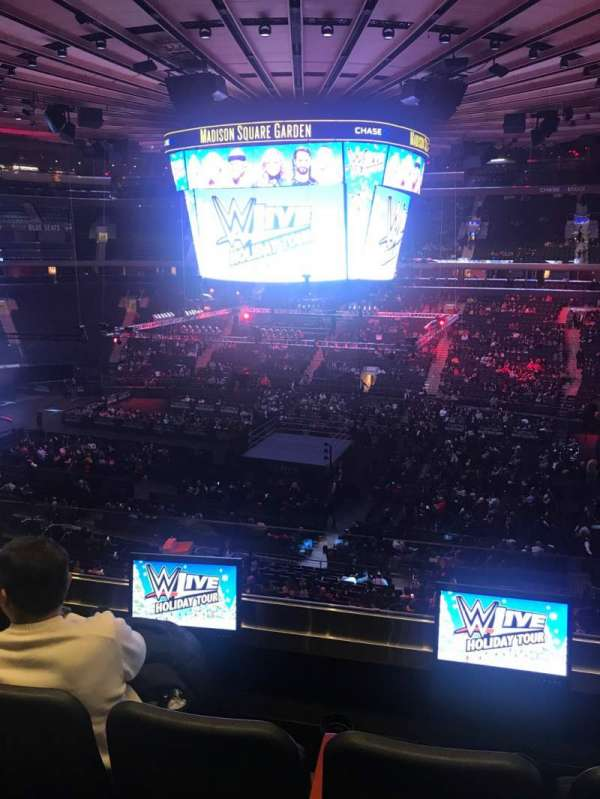 Madison Square Garden, section: 225, row: 3, seat: 14