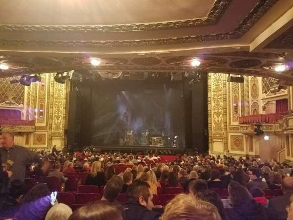 Cadillac Palace Theater, section: Orchestra R, row: X, seat: 12