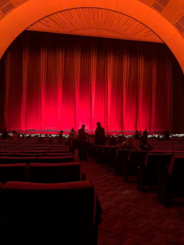 Radio City Music Hall, section: Orchestra 5, row: XX, seat: 501