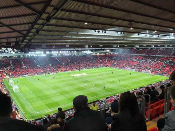 Old Trafford, section: NE3424, row: 26, seat: 22