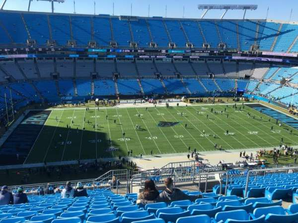 Bank of America Stadium, section: 517, row: 14, seat: 5-6