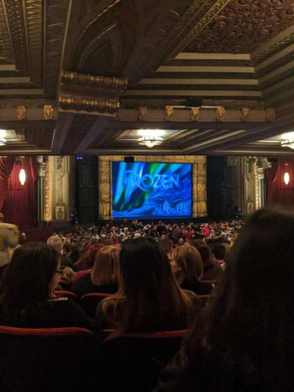 Hollywood Pantages Theatre, section: Orchestra L, row: XX, seat: 314