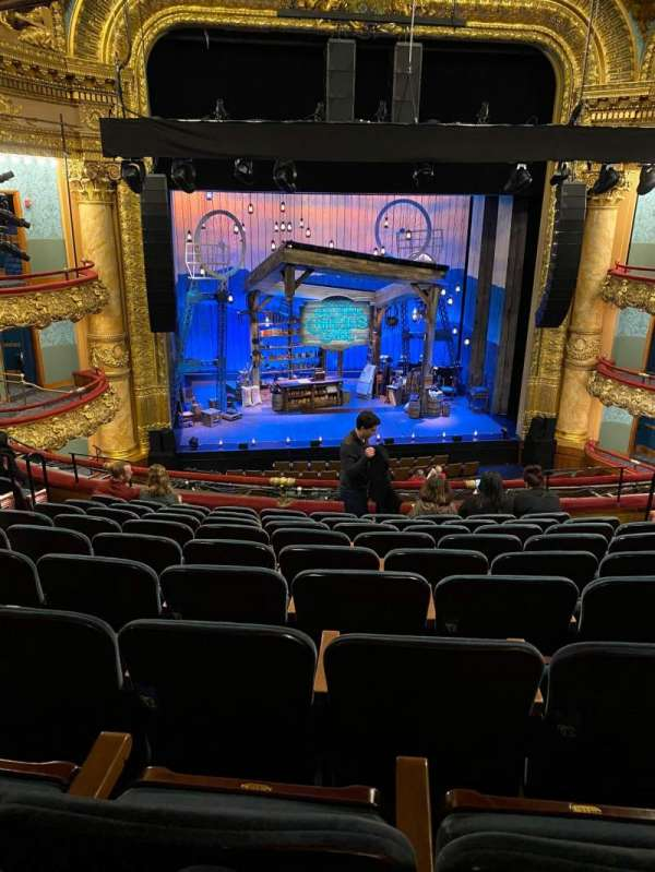 Emerson Colonial Theatre, section: Dress Circle LC, row: I, seat: 113