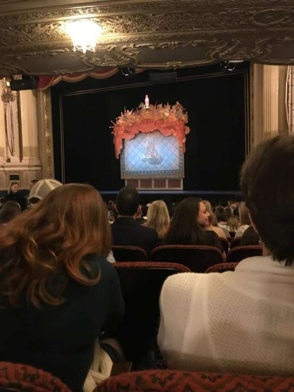 Citizens Bank Opera House, section: Orchestra RC, row: S, seat: 18