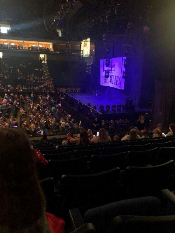 BOK Center, section: 111, row: R, seat: 10