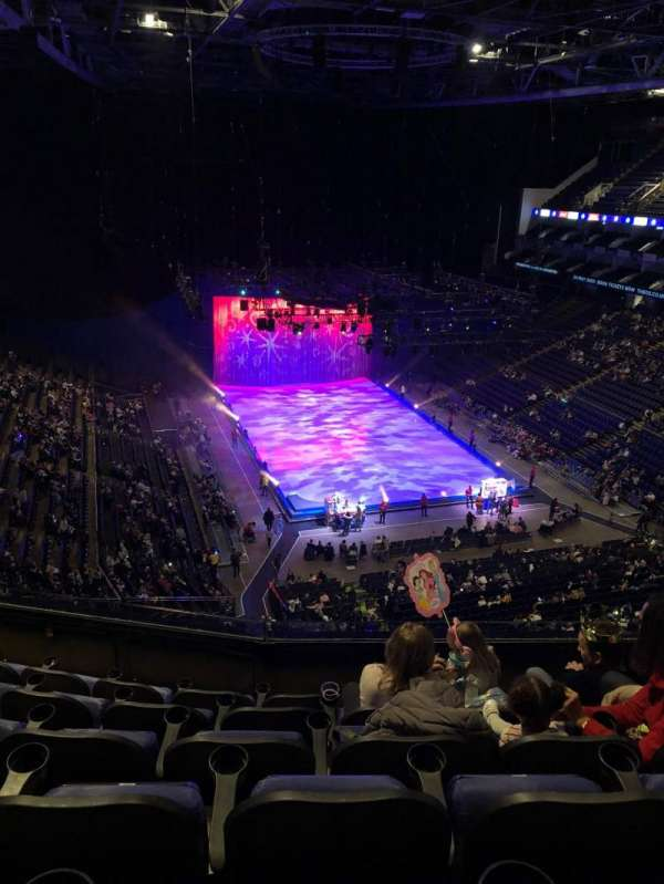 The O2 Arena, section: 410, row: F