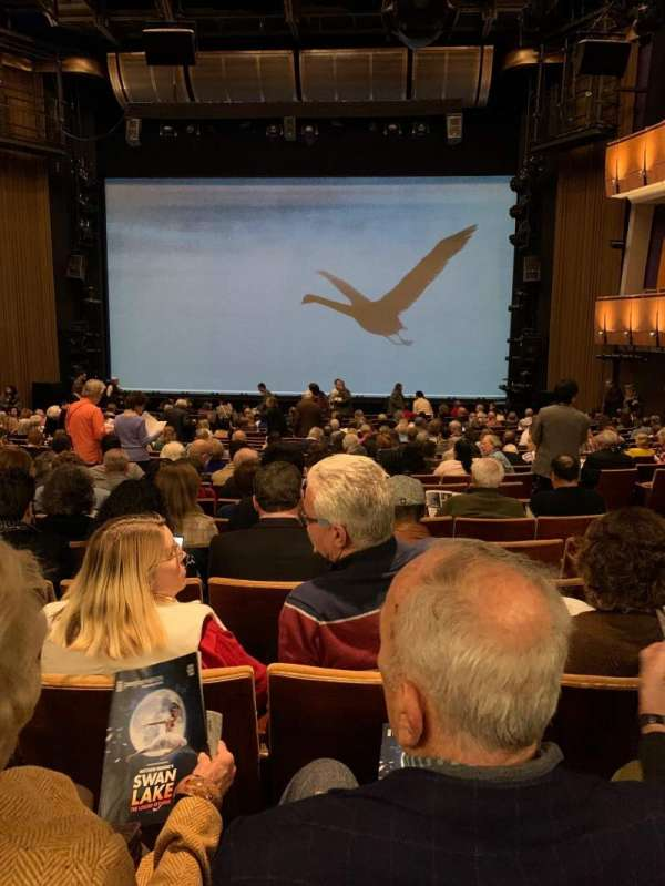 Ahmanson Theatre, section: Orchestra, row: U, seat: 23