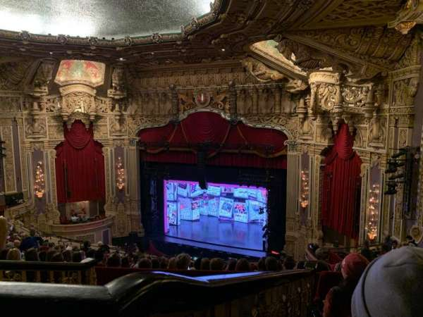 James M. Nederlander Theatre, section: Balcony R, row: P, seat: 364