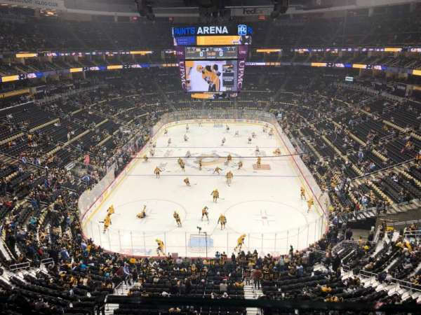 PPG Paints Arena, section: 228, row: A, seat: 2