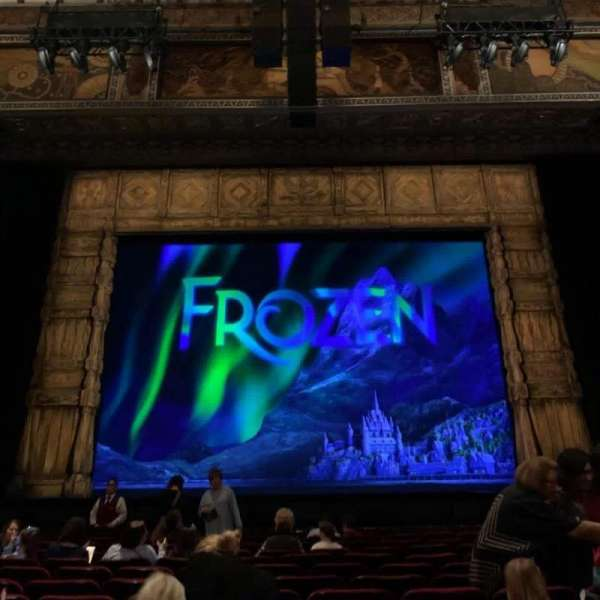 Hollywood Pantages Theatre, section: Orchestra C, row: M, seat: 107