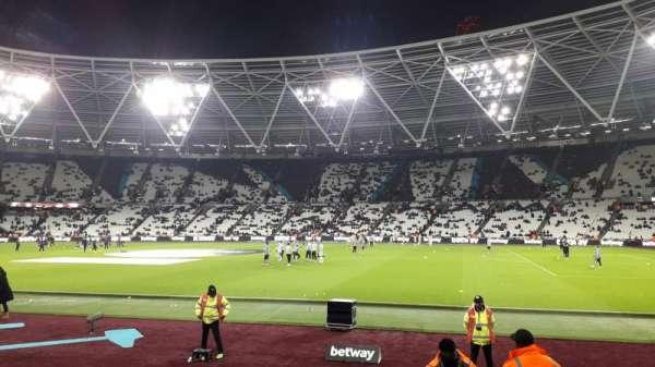 London Stadium, section: 111, row: 6, seat: 250