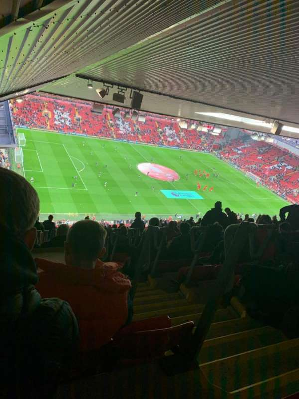 Anfield, section: U1, row: 87, seat: 23