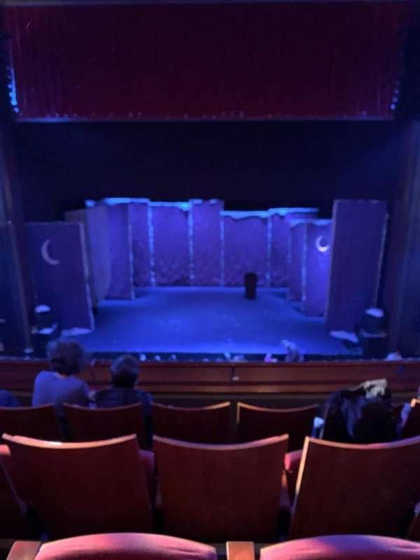 Stephen Sondheim Theatre, section: Mezzanine C, row: DD, seat: 110