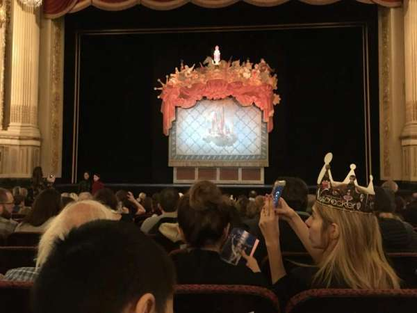 Citizens Bank Opera House, section: Orchestra C, row: L, seat: 105