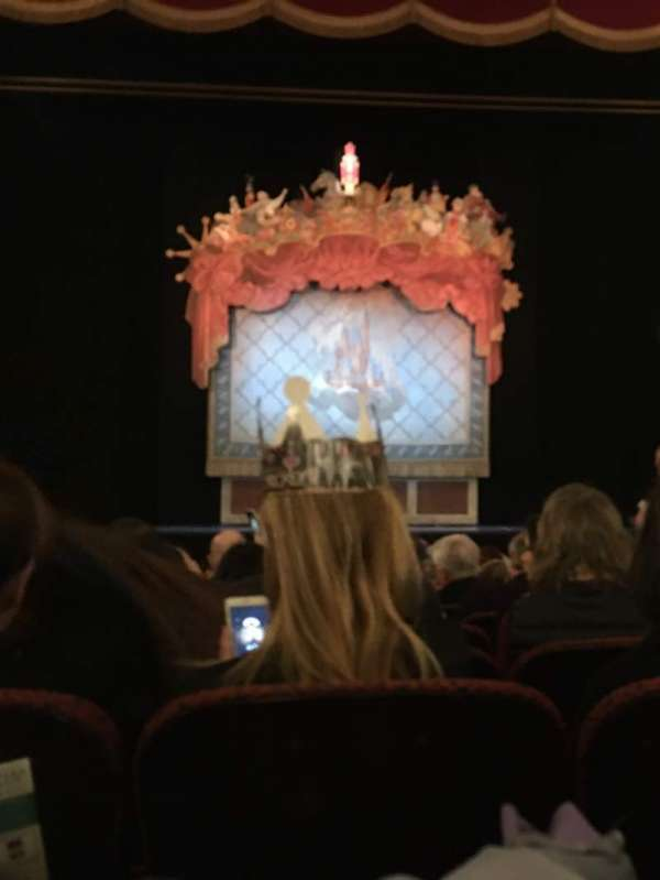 Citizens Bank Opera House, section: Orchestra C, row: L, seat: 104
