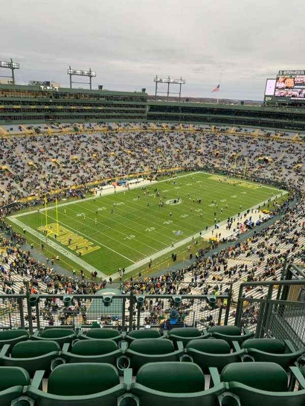 Lambeau Field, section: 735s, row: 7, seat: 4
