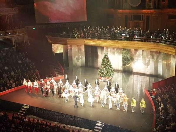 Royal Albert Hall, section: Rausing Circle V, row: 1, seat: 146