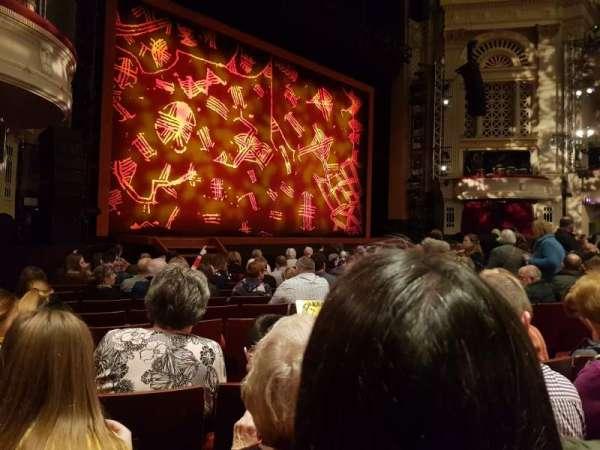Edinburgh Playhouse, section: Stalls, row: P, seat: 48