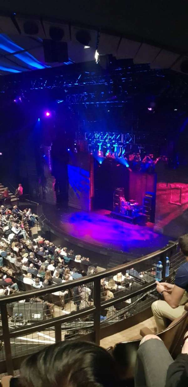 Gillian Lynne Theatre, section: Upper circle, row: C, seat: 14