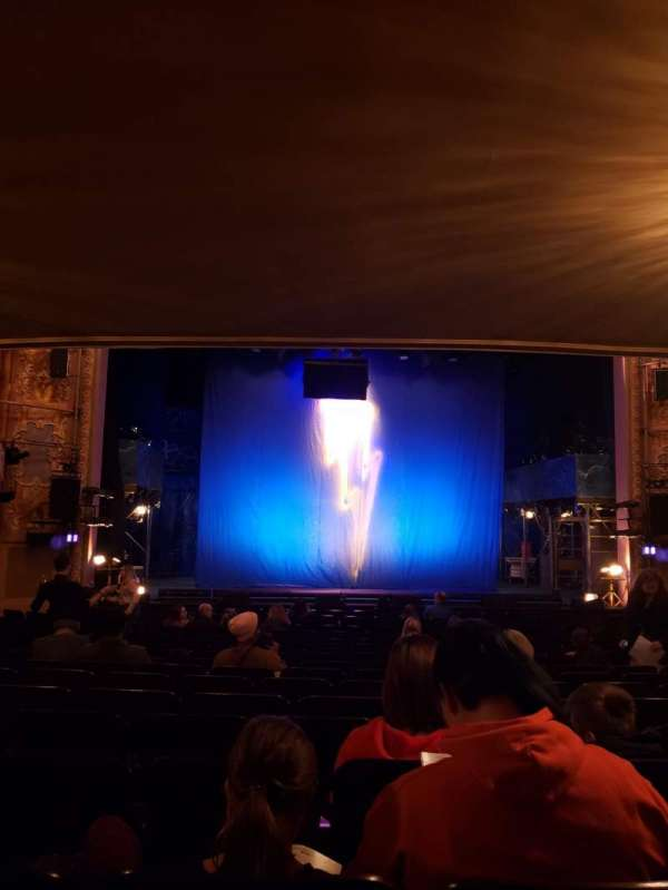 Longacre Theatre, section: Orchestra C, row: Q, seat: 109