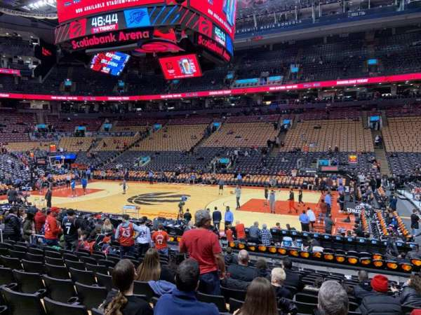 Scotiabank Arena, section: 118, row: 16, seat: 7