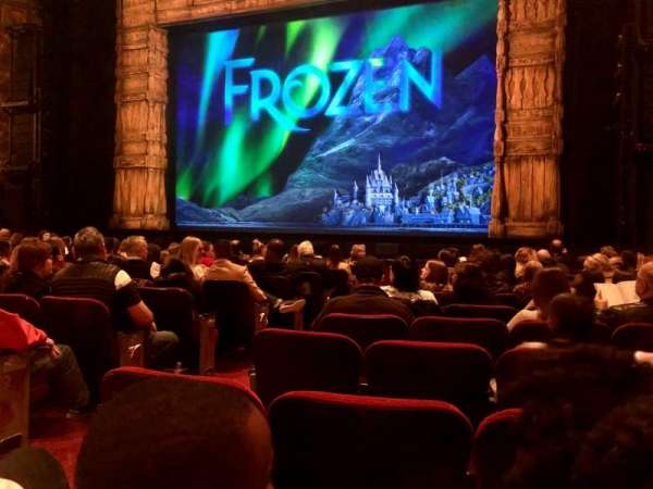 Hollywood Pantages Theatre, section: Orchestra RC, row: L, seat: 203