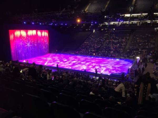 The O2 Arena, section: 103, row: Z, seat: 103