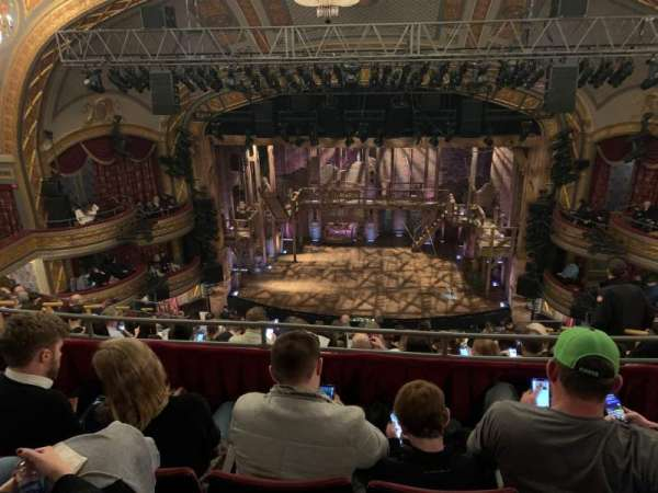 Richard Rodgers Theatre, section: Rear Mezzanine C, row: J, seat: 105