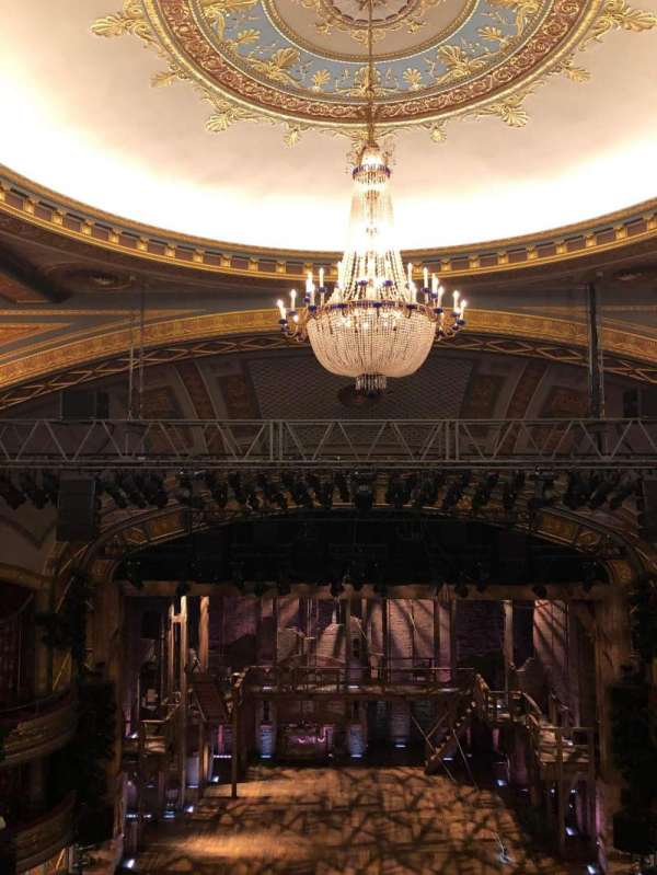 Richard Rodgers Theatre, section: Rear Mezzanine C, row: H, seat: 108