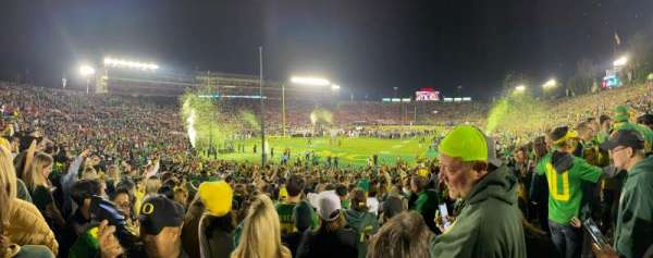 Rose Bowl, section: 28A, row: 26