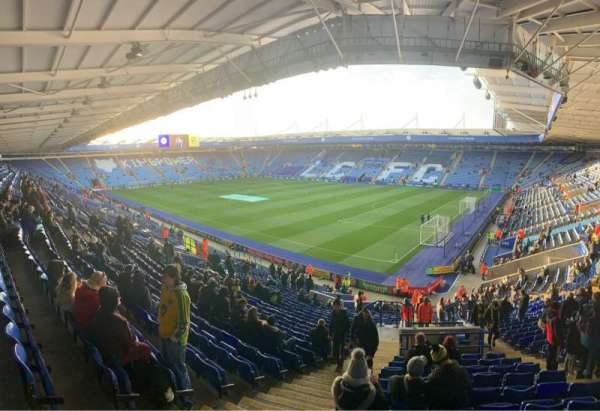 King Power Stadium, section: M3, row: FF, seat: 365