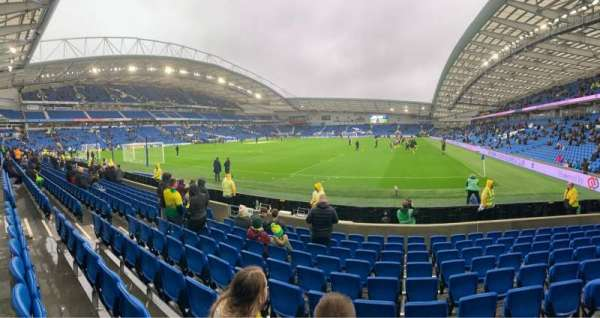 American Express Community Stadium, section: S1C, row: J, seat: 791