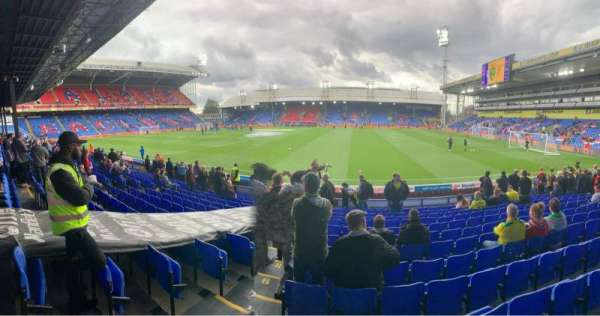 Selhurst Park, section: T, row: 14, seat: 74