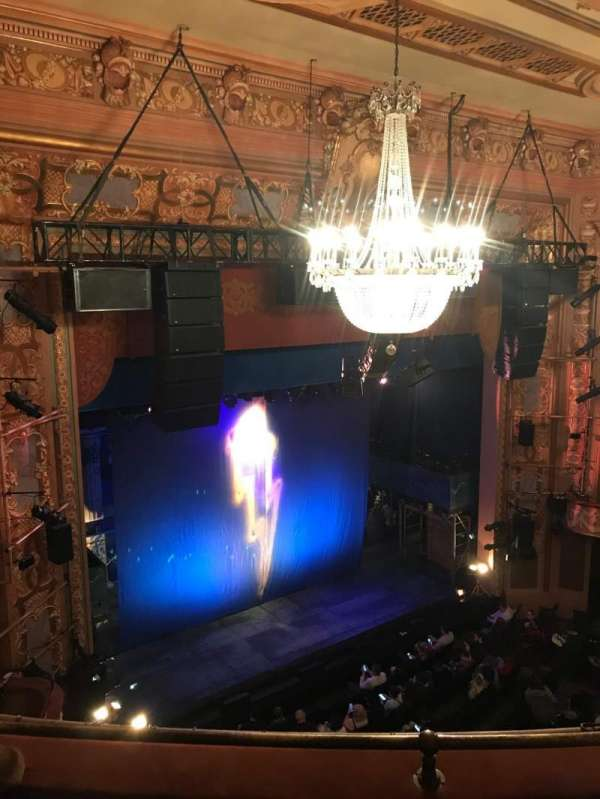 Longacre Theatre, section: Balcony L, row: C, seat: 20