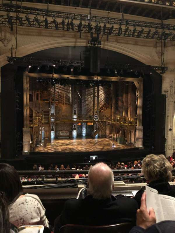 Orpheum Theatre (San Francisco), section: Loge LC, row: C, seat: 117