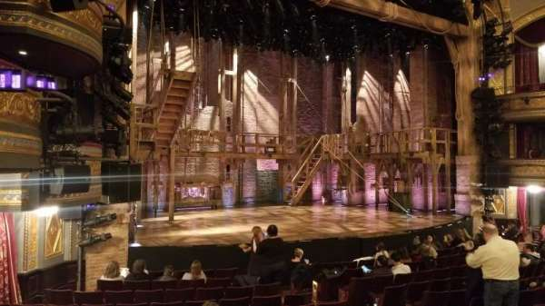 Richard Rodgers Theatre, section: Orchestra L, row: M, seat: 19