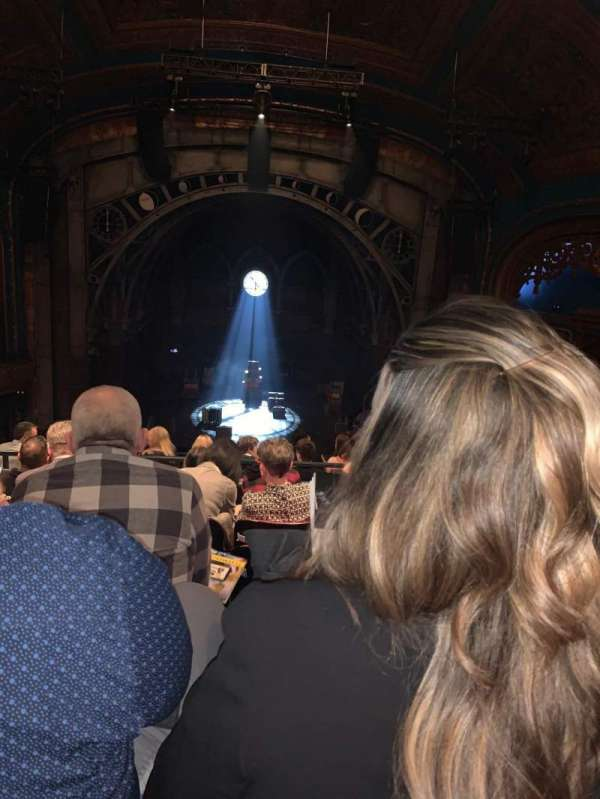 Curran Theater, section: Mezzanine C, row: F, seat: 108