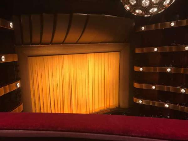 David H. Koch Theater, section: 4th ring, row: A, seat: 21