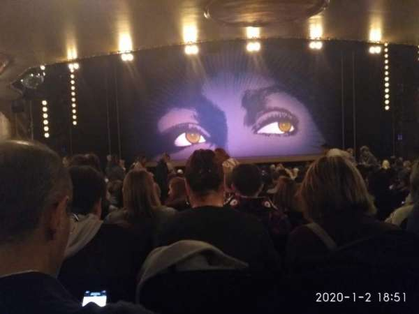 Lunt-Fontanne Theatre, section: Orchestra C, row: W, seat: 105