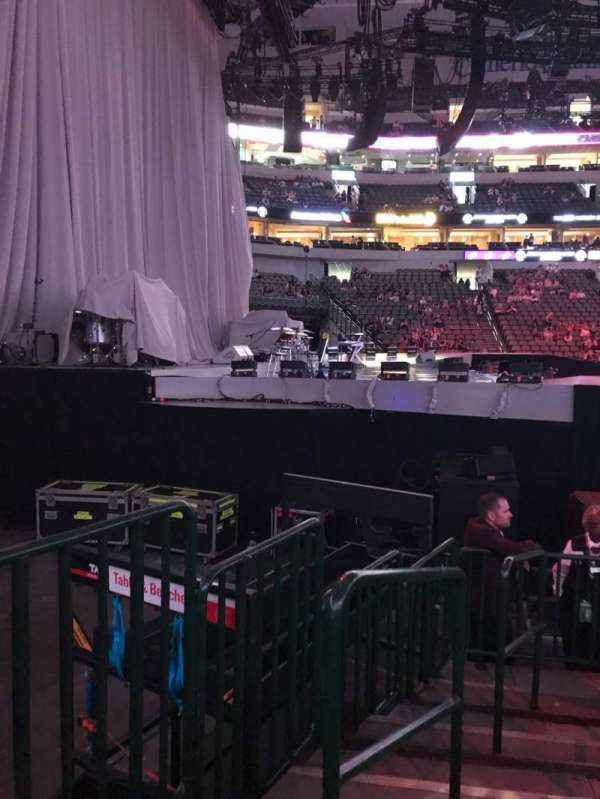 American Airlines Center, section: 121, row: F, seat: 10