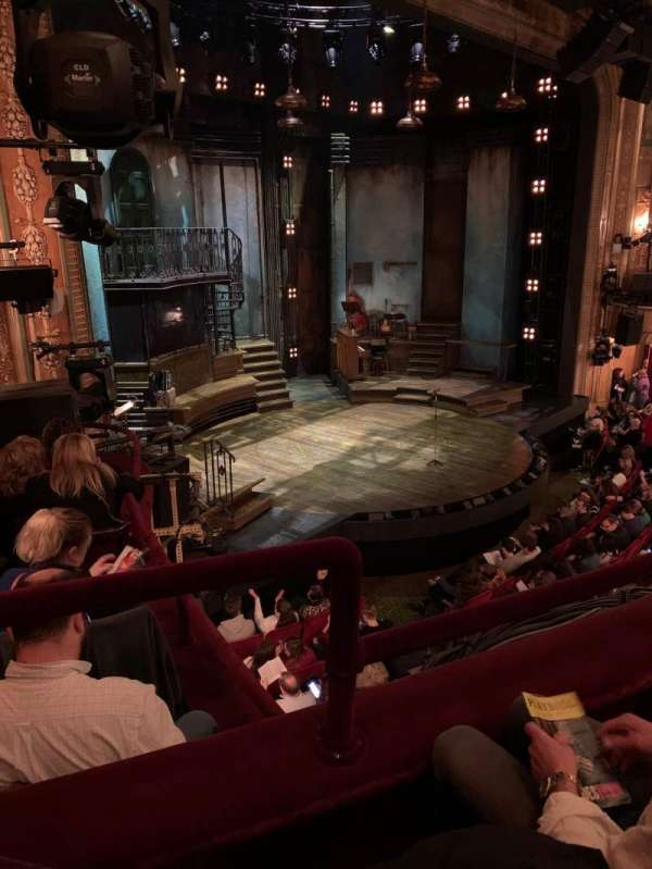 Walter Kerr Theatre, section: Mezzanine L, row: 2, seat: 25